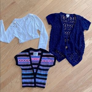 Justice Spring Time Cardigan Bundle